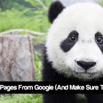 آموزش مهم خارج کردن صفحات از گوگل