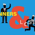 تفاوت برنده ها و بازنده ها