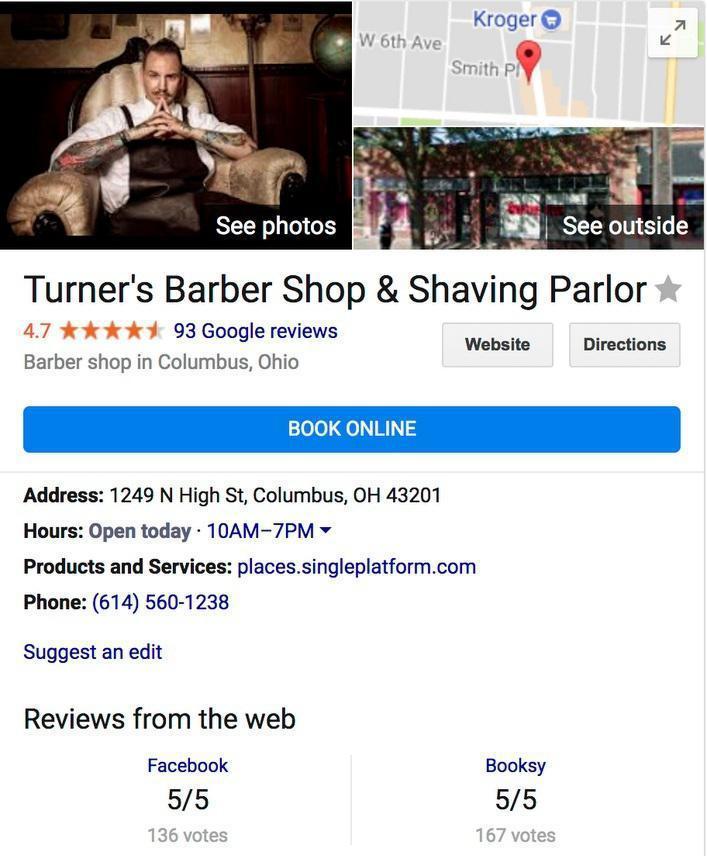 google my business booking آموزش بهینه سازی Google My Business – قسمت دوم