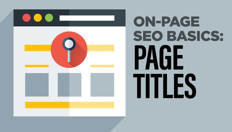 page title optimization موارد و نکات بهینه سازی عنوان وبسایت و مرکز خبرهای جدید