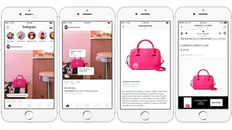 Shopping on Instagram قابلیت خرید در استوری اینستاگرام