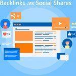 مقایسه بک لینک و اشتراک گذاری در شبکه های اجتماعی