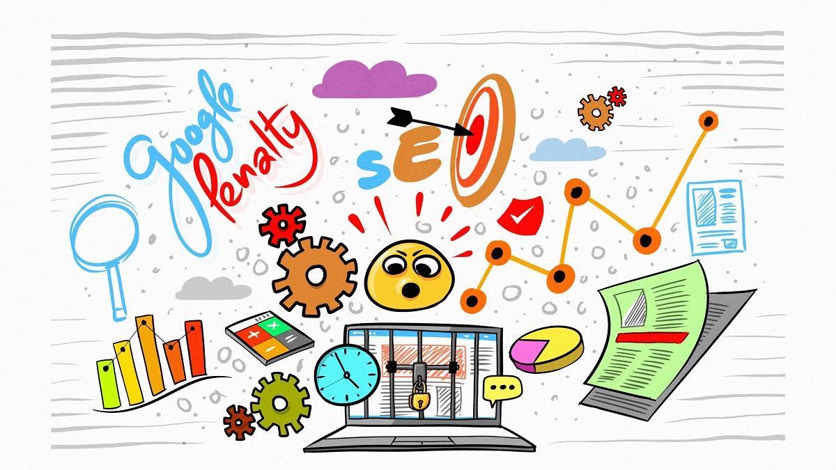 آموزش سئو,بررسی پنالتی شدن سایت,پنالتی سایت چیست