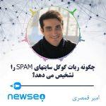 تشخیص سایت اسپم توسط ربات گوگل