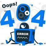 تاثیر ارور 404 در سئو چیست؟